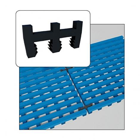 Hosszanti kapcsoló Akwadek/Flexdek szőnyegekhez