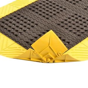 Diamond Flex-Lok moduláris ipari szőnyeg nedves, olajos környezetbe