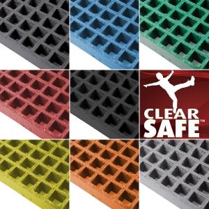ClearSafe GRP rács